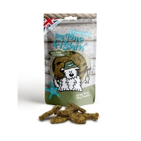 Dog Gone Fishin' Red Fish + Fennel Crunchies 75g x 6