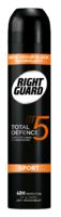 Right Guard Total Defence 5 Men Sport Aerosol 250ml