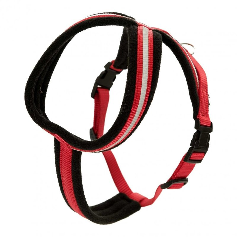 Halti Comfy Dog Harness Red - Small