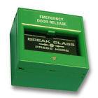 Resettable Green Break Glass Unit AS8034