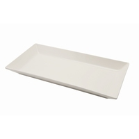 Royal Genware Fine China Rect Dish 280x140mm Carton of 3