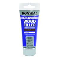 Ronseal Multi Purpose Wood Filler Tube 100g Dark