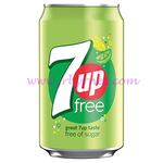 330 7UP Free Can x24