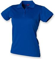 Henbury Ladies Coolplus Wicking Piqué Polo-shirt