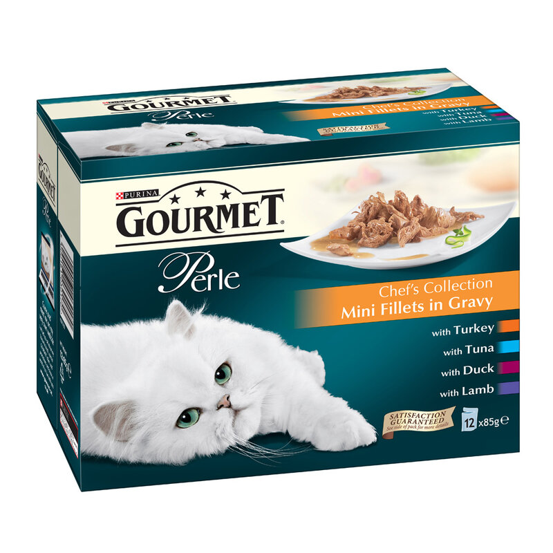 Gourmet Perle Chef Selection 4 x 12 x 85g