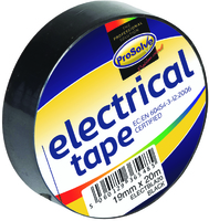 19MM X 20MT BLACK INSULATING TAPE x10