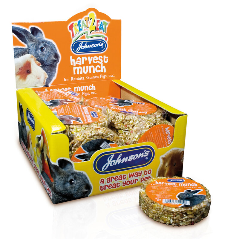 JVP Rabbit & Guinea Harvest Munch x 18