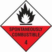 Dangerous Substances Sign DANG0005-0290