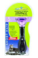 Furminator Short Hair Deshedding Tool for Small Cats x 1