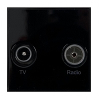 Triax TV/Radio  Insert - Black (304259)