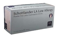 GLOVES SCHOTTLANDER LA PD F BLUE BX)  S