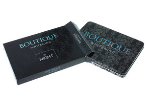 BOUTIQUE WHITENING KIT BY NIGHT - CARBAMIDE PEROXIDE 16%