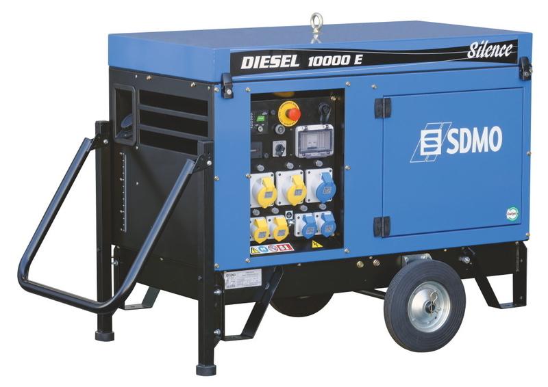 SDMO 10000E Diesel Generator With Kohler Engine