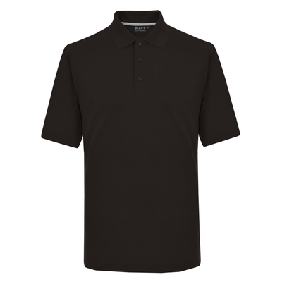 Papini Climate Performance Black Polo