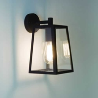 ASTRO Calvi Black E27 Wall Light Black | LV1702.0014