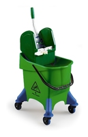 JUMPY BUCKET & WRINGER GREEN 30ltr