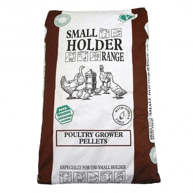 Allen & Page Small Holder Range Poultry Grower Pellets 5kg