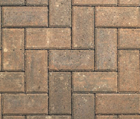 DRIVEWAY BLOCK AUTUMN MIX 200X100X50MM SINGLE