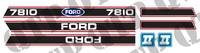 Decal Kit Ford 7810