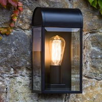 NEWBURY EXTERIOR WALL LIGHT BLACK | LV1702.0127