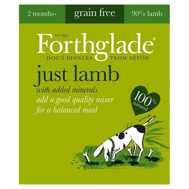 Forthglade Just Lamb Grain Free Dog Food 18 x 395g