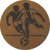 Soccer (25mm Gold Centre)