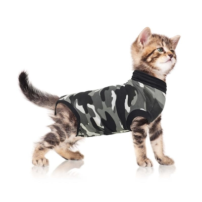 Suitical Recovery Suit Cat Black Camouflage