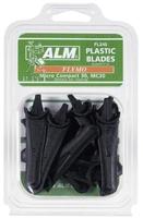 10 X PLASTIC BLADES FLYMO