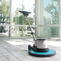 floor polisher and buffer