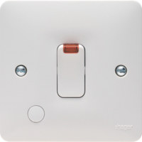 SOLLYSTA  20A DP SWITCH COMPLETE WITH NEON+OUTLET