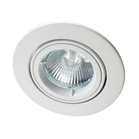 Robus GU10 Directional Downlight White