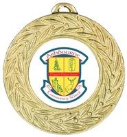 45mm Gold Zamac Laurel Medal | TC94