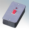 Click CL203 2G 45A DP Switched Metalclad Neon