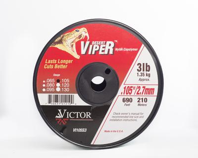 Viper Nylon Line 3lb Spool X 2.7mm .105
