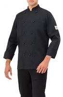 Chef-jacket-black