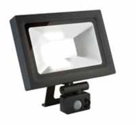 MICRO 30W LED flood light, IP65, Dark Grey, 4000K