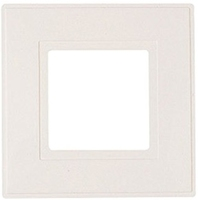MAP SWITCH PLATES WHITE PACK OF 2