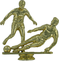 Soccer (Double Male) 110mm Plastic Figure