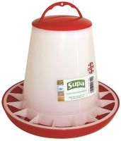 Supa Red & White Poultry Feeder 3kg x 3