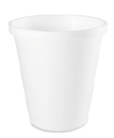 DRINKING CUPS x 2000 CLEAR 7.5oz  * BIODEGRADABLE* (BY LEAFWARE)
