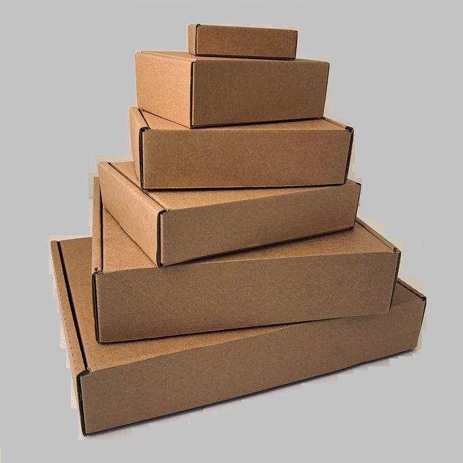 "50  White Corrugated Cardboard  Boxes 13 x 11 x 3.5/"""