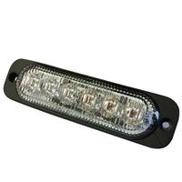 LED Slimline Directional Warning Light | Reg 10/65 | Amber