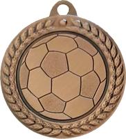 40mm Soccer Ball Medal (Bronze)
