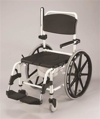 Deluxe Self Propelled Shower Chair/Commode