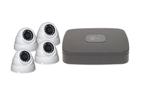 IC Realtime Wave 4 Channel 1TB DVR and 4 x C2Max 2MP Fixed 2.8mm IR White Dome Cameras