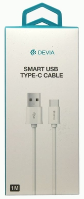 Devia Type C 1m High Speed Cable in White