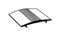 230 CPT COVER STRIP ALUMIN 37mm 9FT x 15