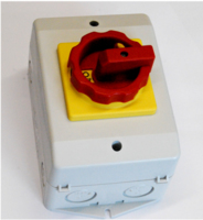 SONTHEIMER 25A 3P ISOLATOR COMPLETE WITH N&PE