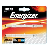 Eveready 400W(500W) Energy Saving Halogen Linear, 2pk
