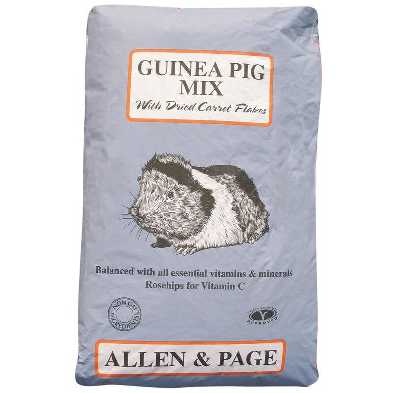 Allen & Page Guinea Pig Complete Mix 20kg